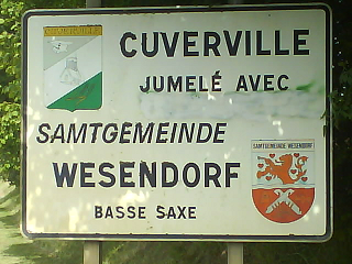 ortstafel cuverville 50